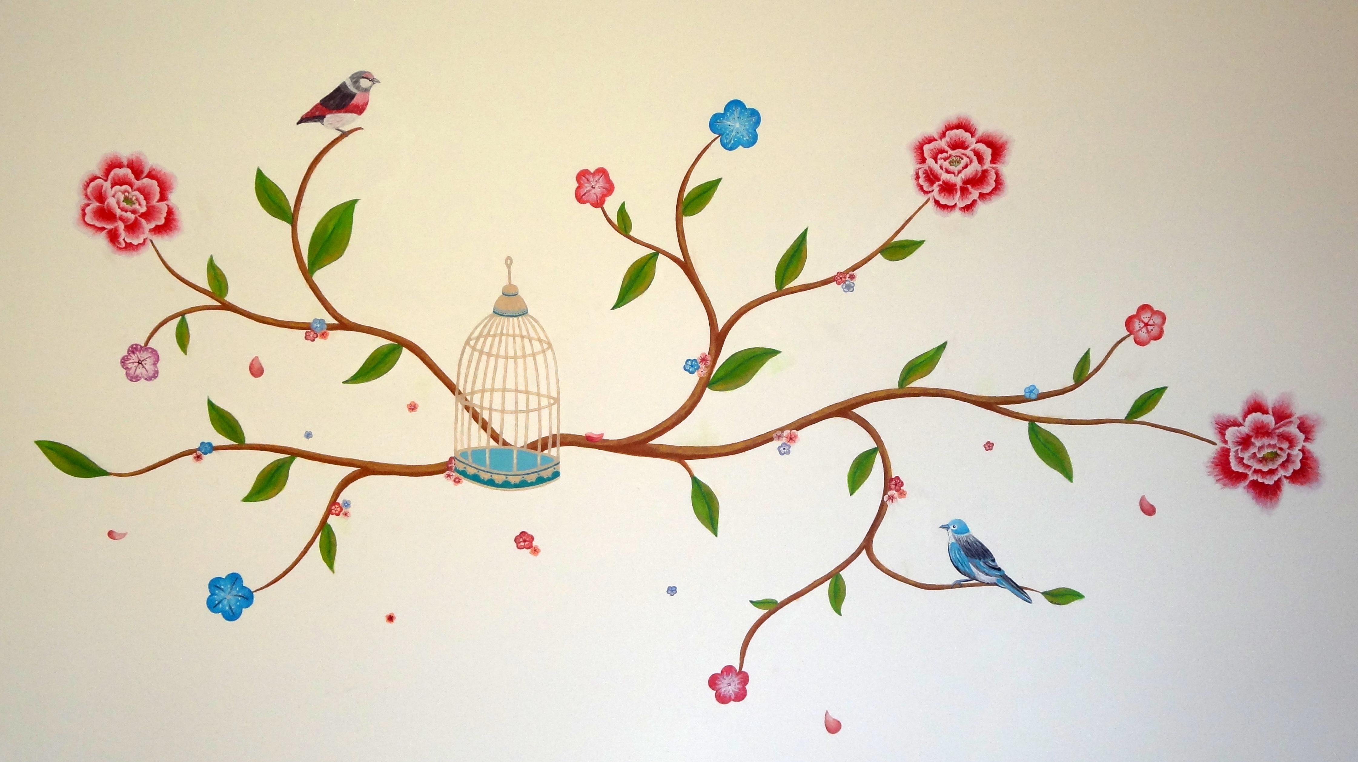 wall paintings – annemarieke kloosterhof -