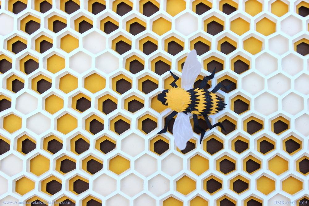 Beehive Close-up Annemarieke Kloosterhof