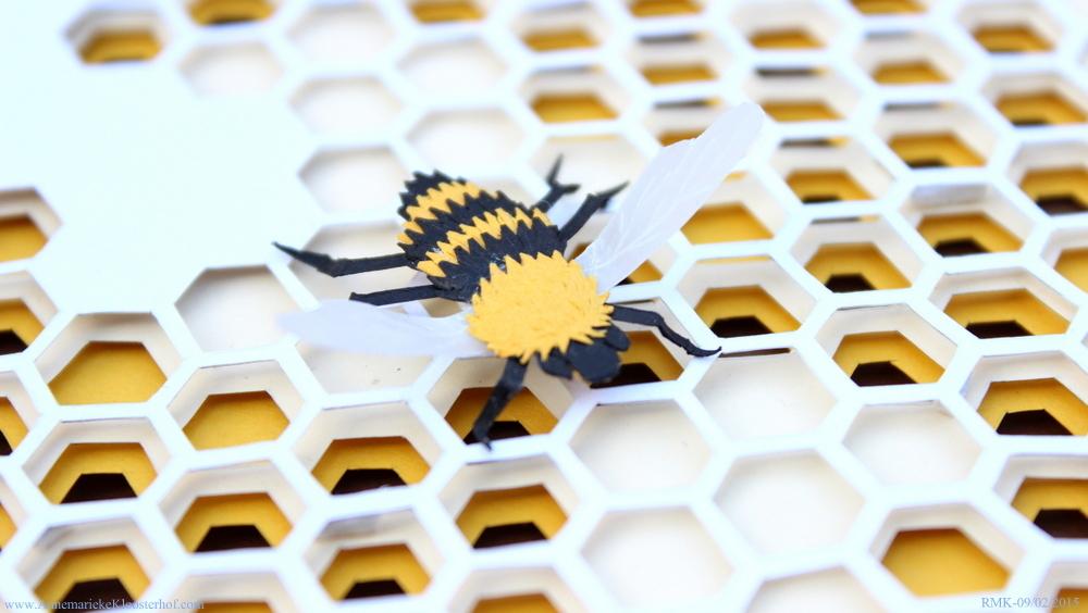 Beehive tilted closeup Annemarieke Kloosterhof