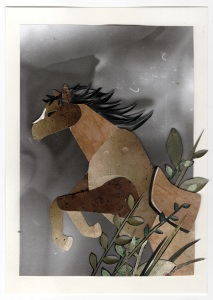War Horse test collage