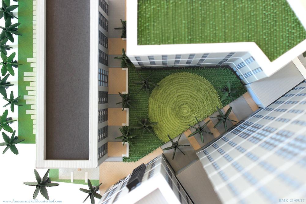 Courtyard Birdseye