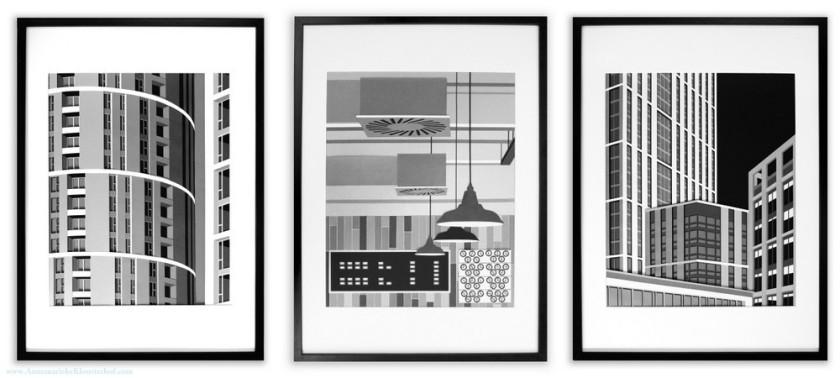 3 Artworks for Frame