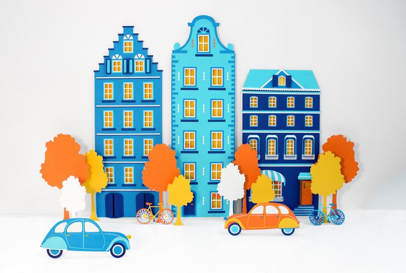 Little Amsterdam – Paper Set – Annemarieke Kloosterhof